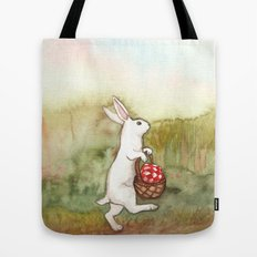 On the Way to the Picnic Tote Bag