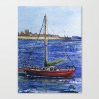 Metro Marine Canvas Print