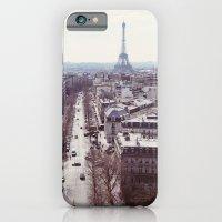 iPhone & iPod Case featuring La Tour Eiffel by Alicia Bock