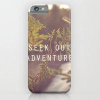 Seek Out Adventure. iPhone 6 Slim Case