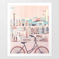 Best Cities To Tour By B… Art Print