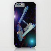 iPhone & iPod Case featuring Enterprise NCC 1701 by JT Digital Art