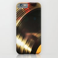 iPhone & iPod Case featuring Vinyl 2 by SilverSatellite