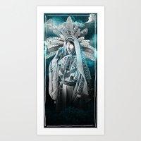 SORCERESS Art Print