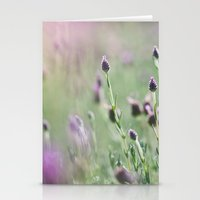 Lavender Summer Stationery Cards