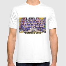 seniors 2013 White Mens Fitted Tee SMALL
