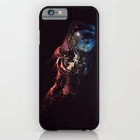 iPhone Cases featuring Spaceman by MUSENYO