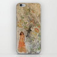 A romantic touch iPhone & iPod Skin