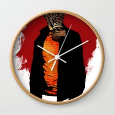 The Haunted Hunter Wall Clock