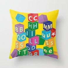 Boston Childrens Museum Throw Pillow