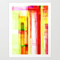 Hex VII Art Print