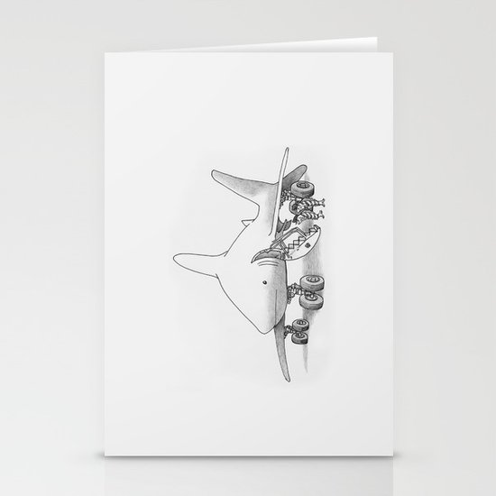 Pilot Fish Stationery Card