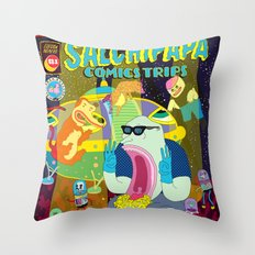 SALCHIPAPA Throw Pillow
