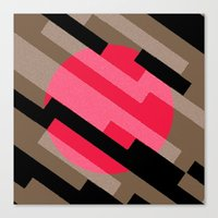 Diagonal Canvas Print