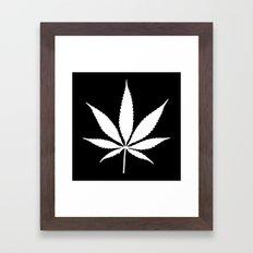 Weed High Times Framed Art Print
