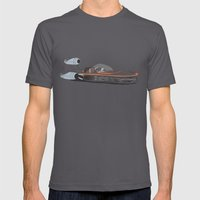 X-34 Landspeeder Mens Fitted Tee Asphalt SMALL