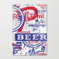 Beer Me: PBR Canvas Print