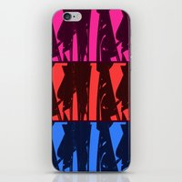 Alien Surf Fiend iPhone & iPod Skin