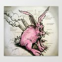 Industribunny Canvas Print