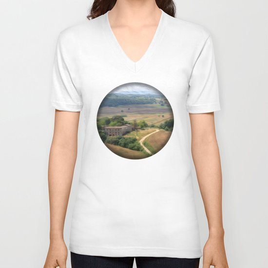 Tuscan Vista V-neck T-shirt