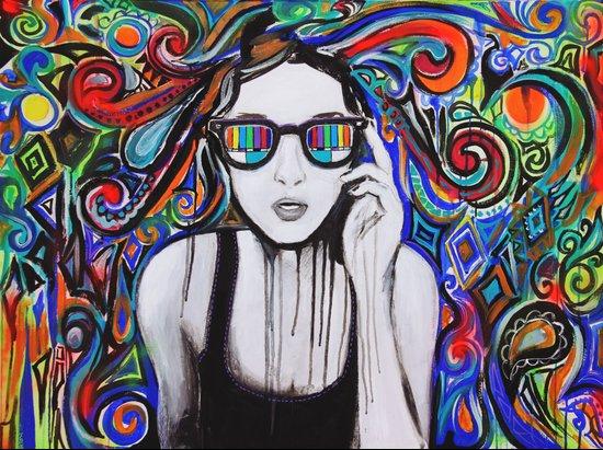 Think in Technicolor Art Print