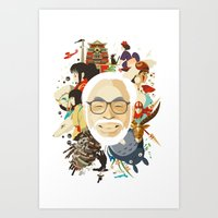 Miyazaki-San Art Print
