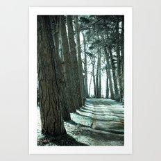 Lodge Lane Art Print