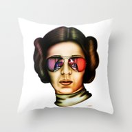 STAR WARS Princess Leia  Throw Pillow