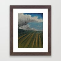 Cloud Farm Framed Art Print