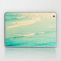 beach sunday Laptop & iPad Skin
