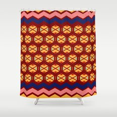 wayuu  pattern 2 Shower Curtain