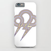Rainbow Lightning iPhone 6 Slim Case
