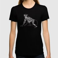 NOT MY CIRCUS Womens Fitted Tee Black SMALL