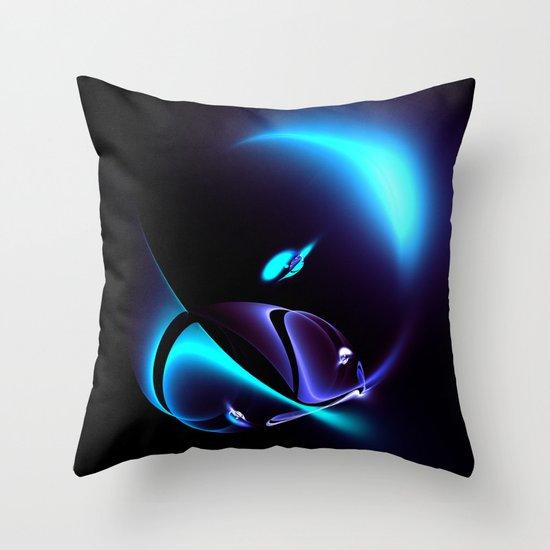 UFO-egg Throw Pillow