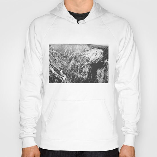 Canyon Black and White Hoody