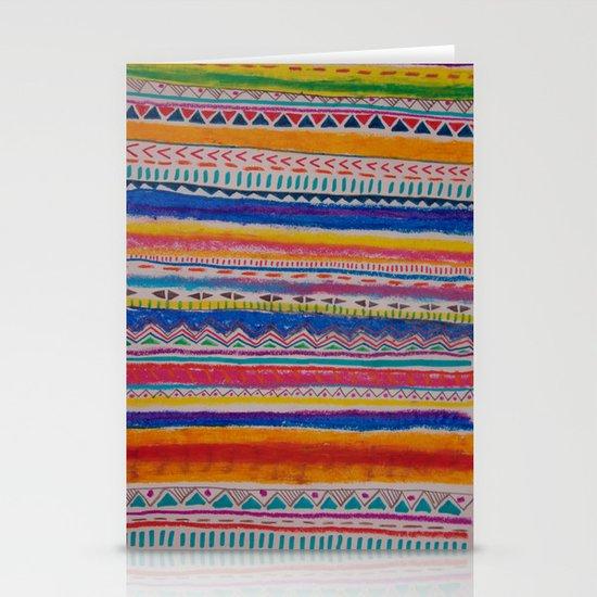 TRIBAL CRAYON / Stationery Card