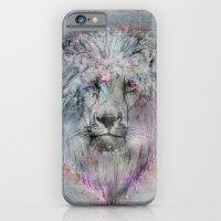 iPhone & iPod Case featuring Heart like a Lion by gwenola de muralt