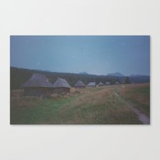 COTTAGES Canvas Print