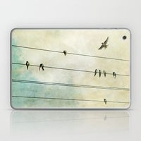 Spread My Wings And Fly Laptop & iPad Skin