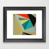 De La Serie Diamante Framed Art Print