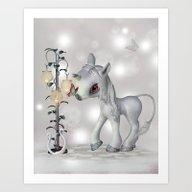 Little Snowflake Art Print