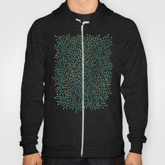 Berry Branches – Turqu… Hoody