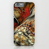 iPhone & iPod Case featuring Glynnia Fractal Art by Liz Molnar