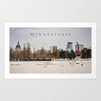 Minneapolis Art Print
