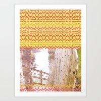AZTEC 'Door Into Summer'… Art Print