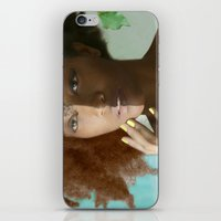 Don't Tell Her She's Pretty For A Darkskin Girl  iPhone & iPod Skin