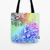 Flying Through Rainbows Tote Bag