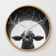 The Banyan Deer Wall Clock