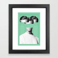 MAN #2 Framed Art Print