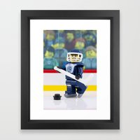 Hockey Night in Canada Framed Art Print